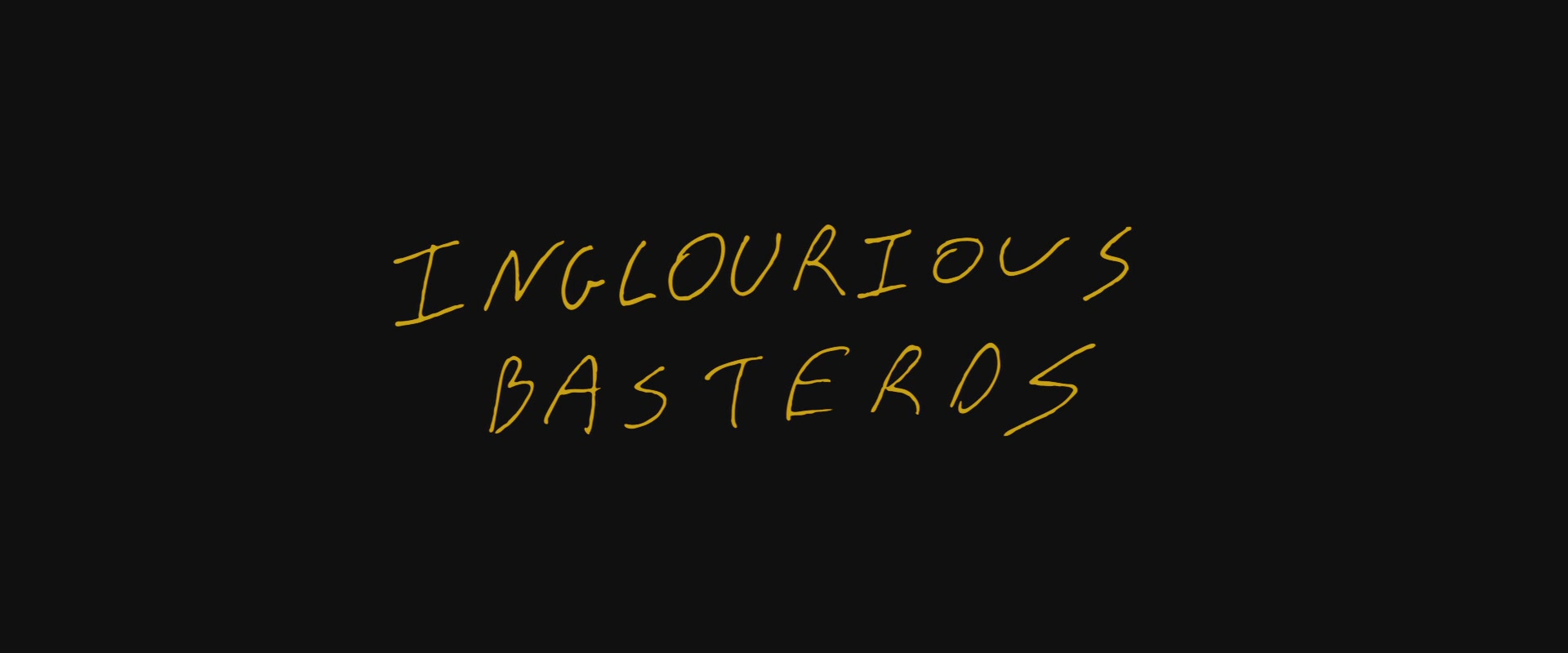 바스터즈 : 거친 녀석들(Inglourious Basterds, 2009)