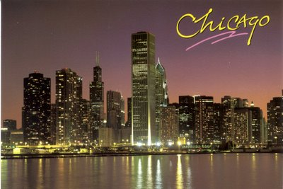 To Chicago, Dear my darling.