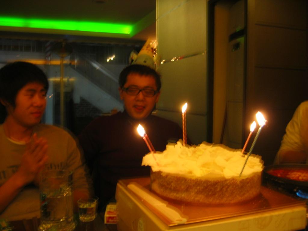 22번째 생일입니다.