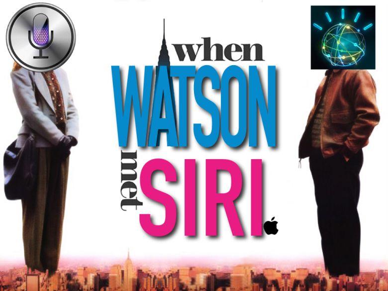 IBM Watson vs Apple Siri(Slide)