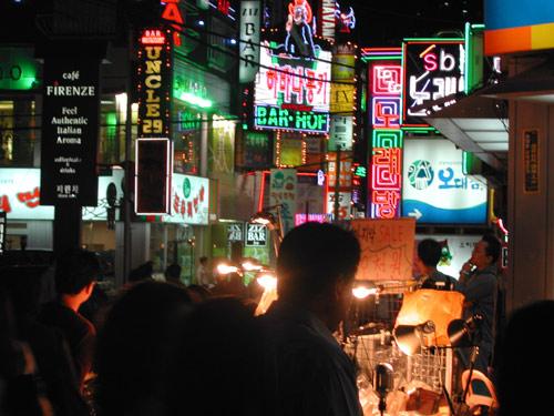 서울에서의 근황, 복잡한 공간.