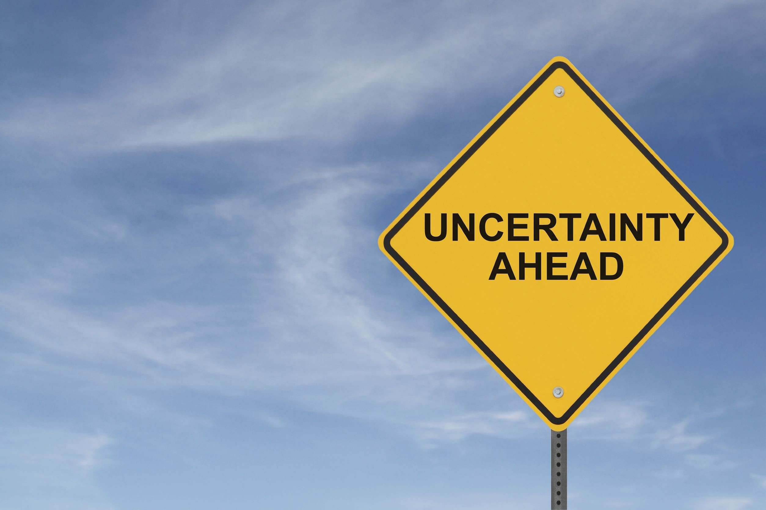Uncertainty vs Certainty
