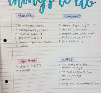 삶의 의미찾기 연습 – 공부목록 정리