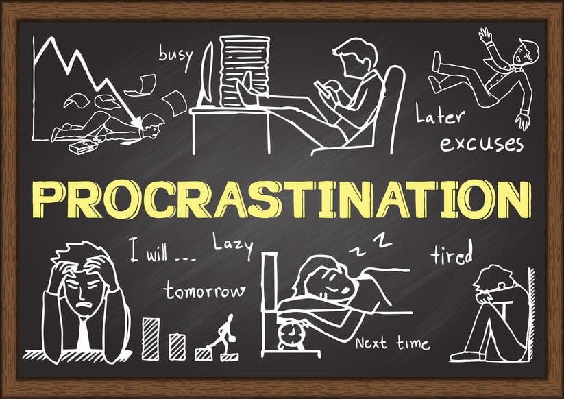 Procrastination: 정리가 필요한 시점.